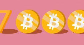 Почему биткоин стоит 7 000$