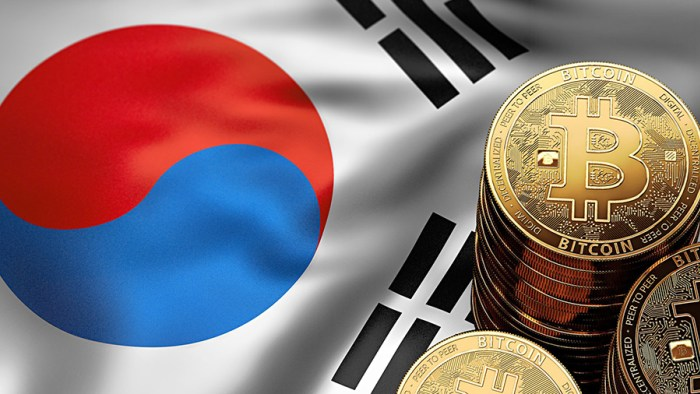 Власти Южной Кореи запретят торговлю криптовалютой