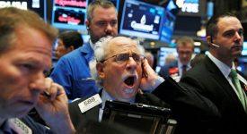 фондовый рынок упал
