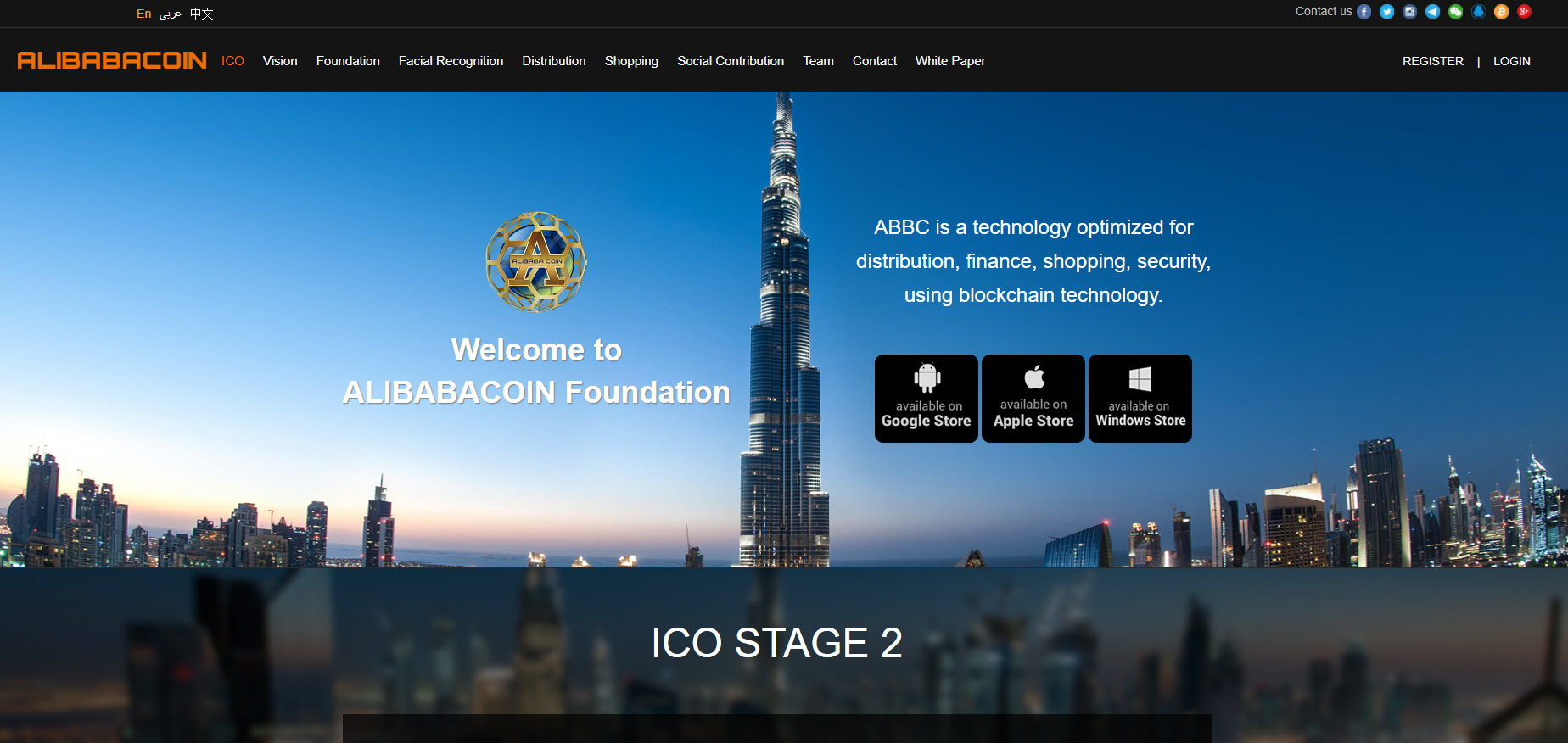 Alibabacoin Foundation.
