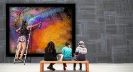 В галерею за биткоинами! Ценители искусства бесплатно получают токены
