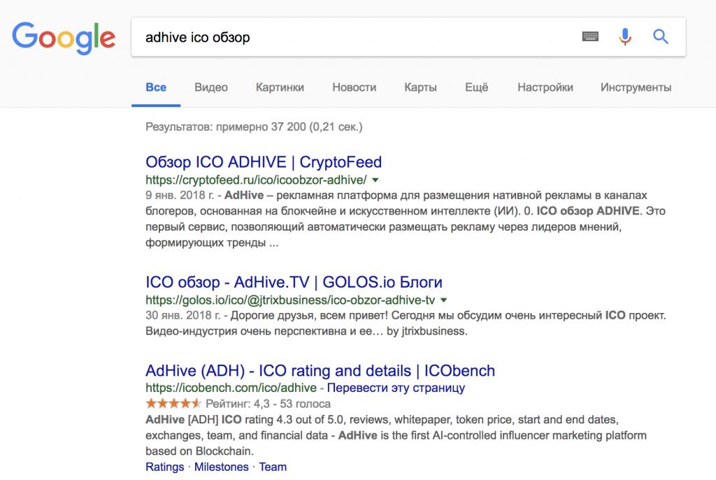 AdHive Google