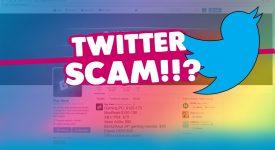 В Twitter орудует криптовалютный мошенник