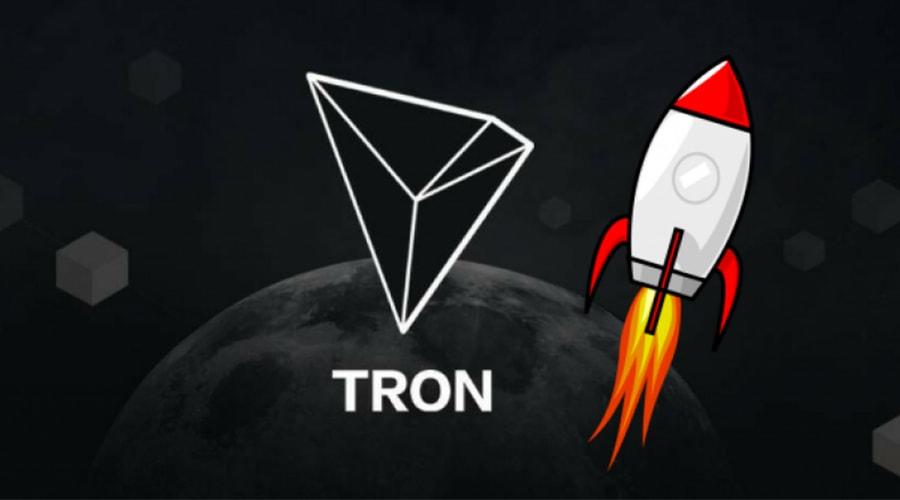криптовалюта tron попала в топ 10 токенов