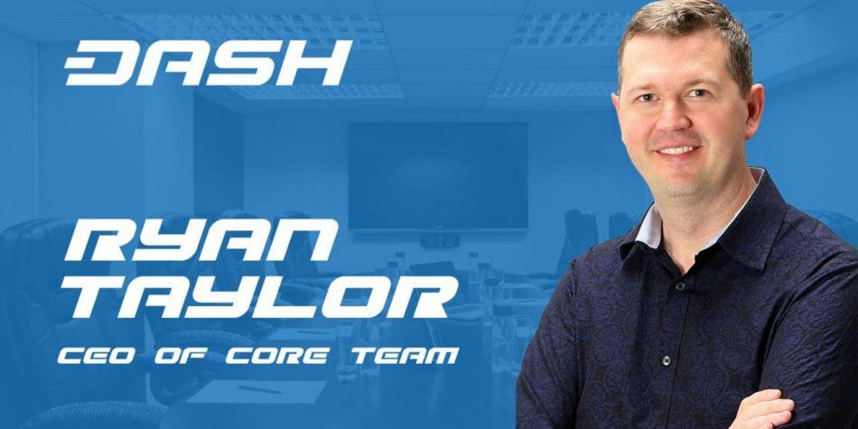 Твиттер CEO Dash Core Райана Тейлора был взломан