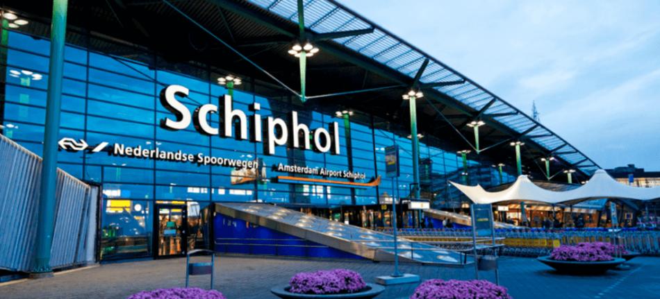 В аэропорту Амстердама появился биткоин-банкомат