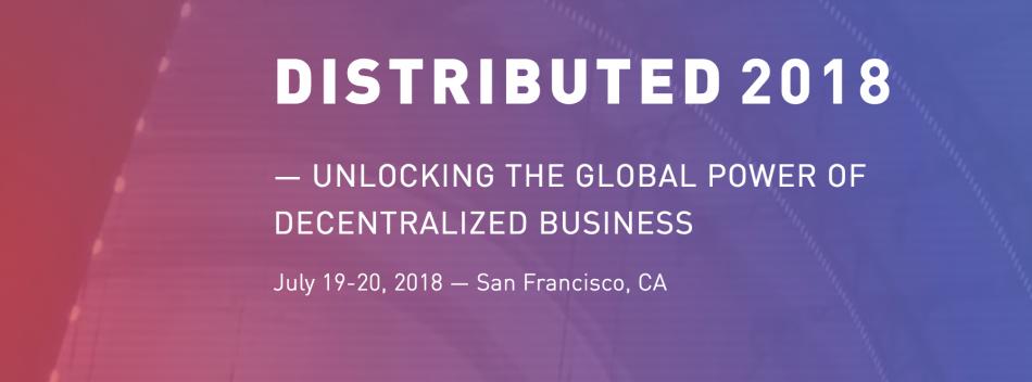 Enigma (ENG) — Участие в Distributed 2018 Conference в Сан-Франциско