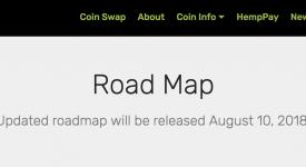 HempCoin (THC) - Обновление дорожной карты