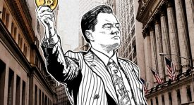 Волк с Уолл-стрит: криптовалюта биткойн вскоре испарится