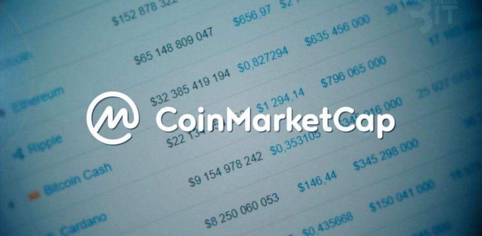 Coinmarketcap опять подозревают в мошенничестве