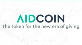 AidCoin (AID) - Бесплатная раздача криптовалюты