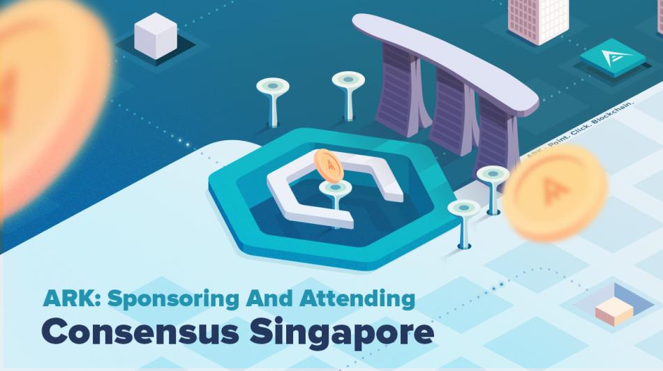 Ark (ARK) — Спонсор мероприятия Consensus Singapore 2018 в Сингапуре