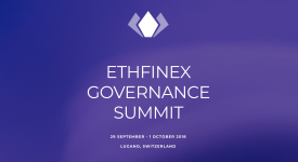 POA Network (POA) - Участие в саммите по управлению Ethfinex, Лугано, Швейцария