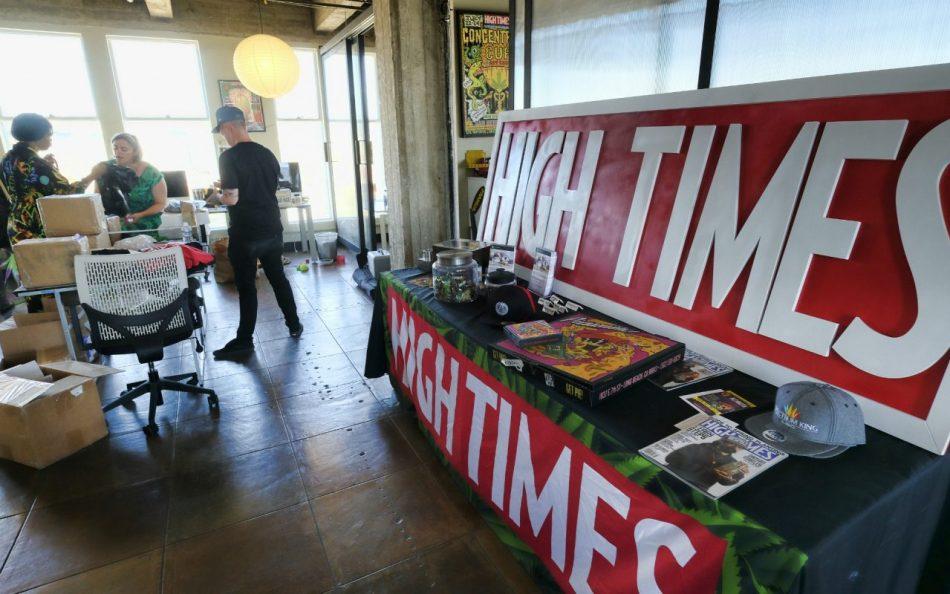 Журнал о марихуане продает акции за биткоины