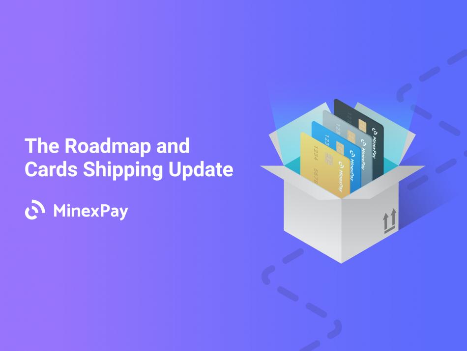 MinexCoin (MNX) - Отправка карт MinexPay клиентам