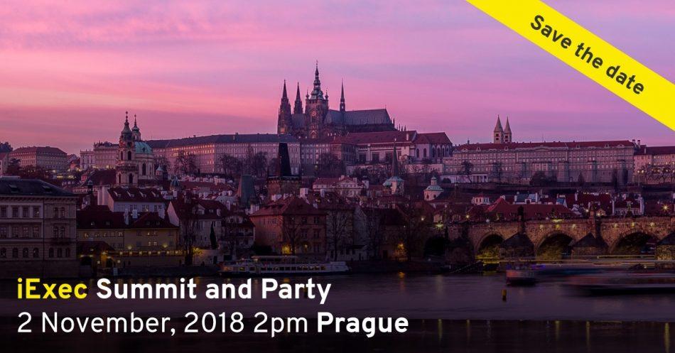 iExec RLC (RLC) - Саммит и вечеринка с командой iExec в Праге