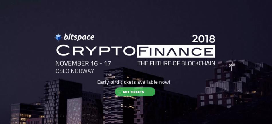 Nexus (NXS) - Участие в CryptoFinance 2018 в Осло