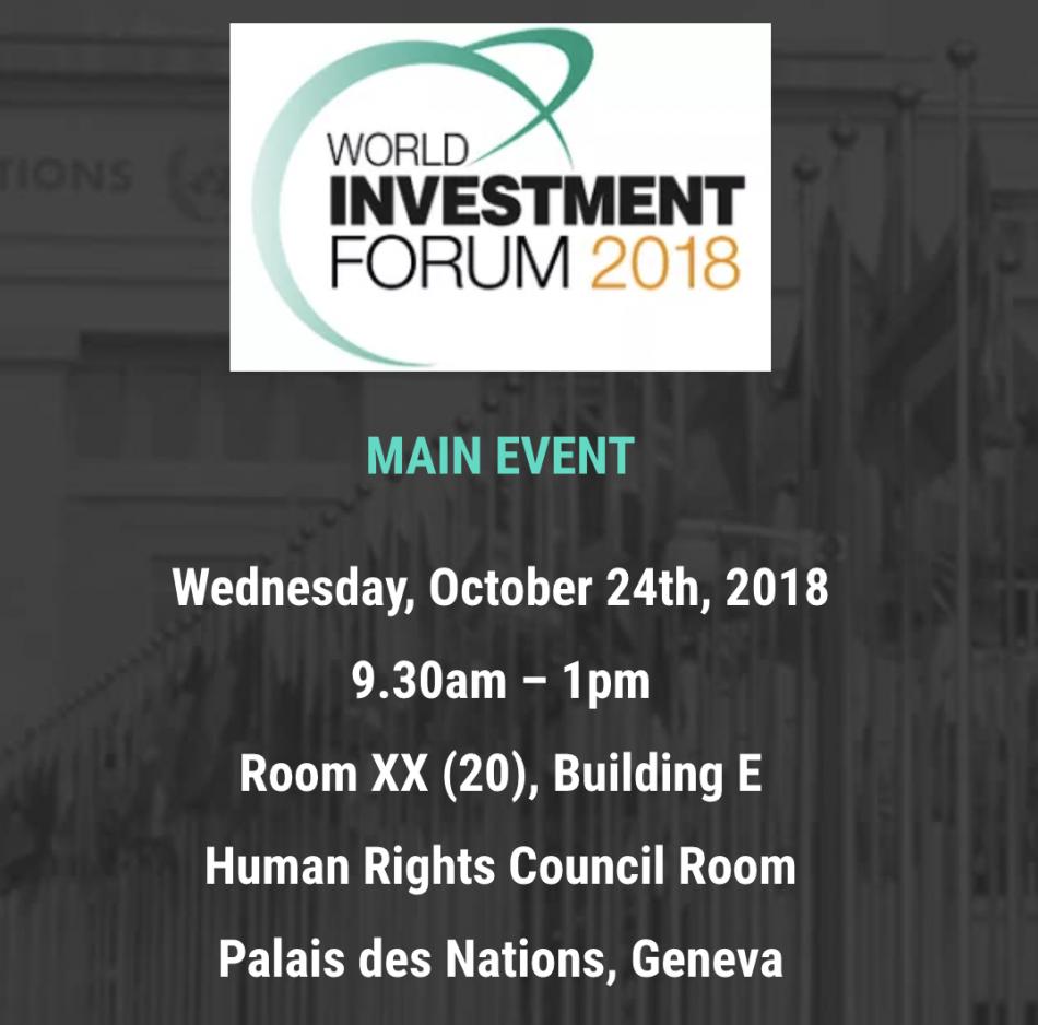 Bancor (BNT) - Всемирный инвестиционный форум в Женеве