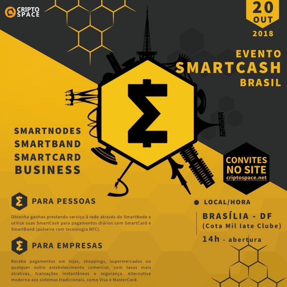 SmartCash (SMART) - Встреча сообщества SmartCash в Бразилии, Бразилия