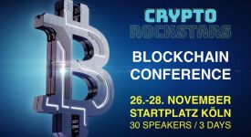Crown (CRW) - Участие в конференции Crypto Rockstars в Кельне