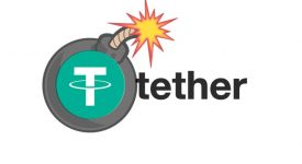 Цена стейблкойна Tether упала до 18-месячного минимума