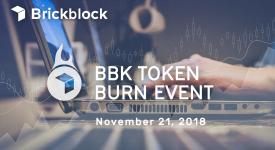 Brickblock (BBK) - Сожжение непроданных токенов