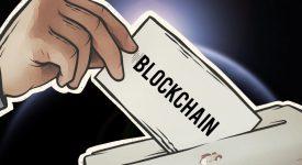 выборы на блокчейне