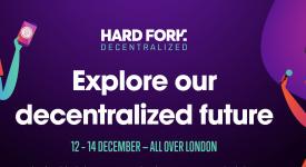 TRON (TRX) - Спонсорство Hard Fork Decentralized 2018