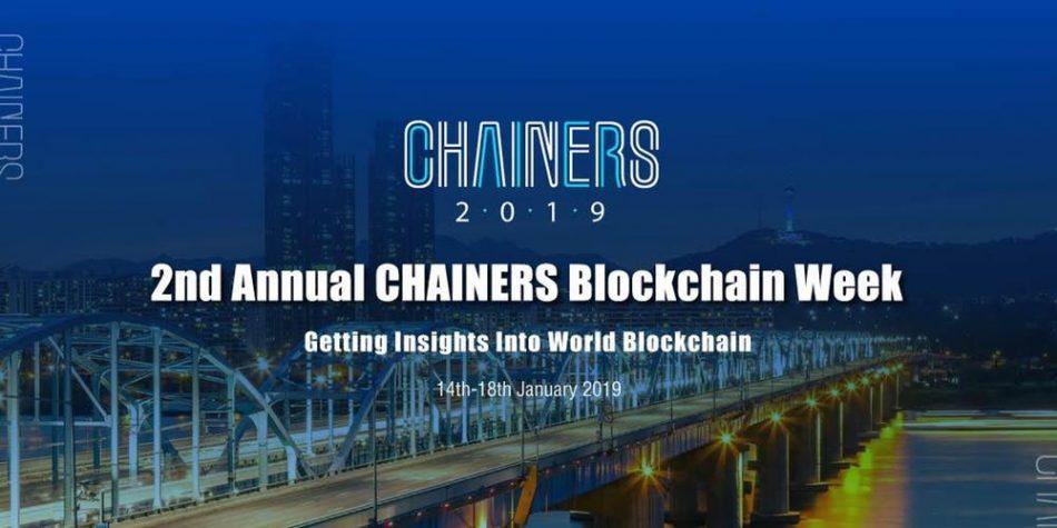 ICON (ICX) — Участие в конференции CHAINERS Blockchain Week в Сеуле