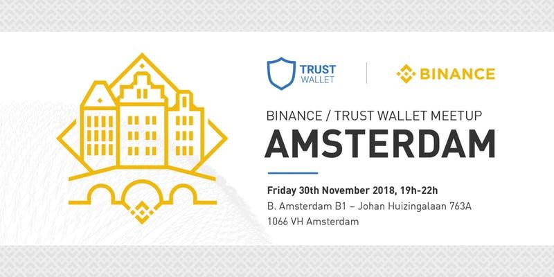 Binance Coin (BNB) - Встреча сообщества Binance Coin в Амстердаме, Нидерланды