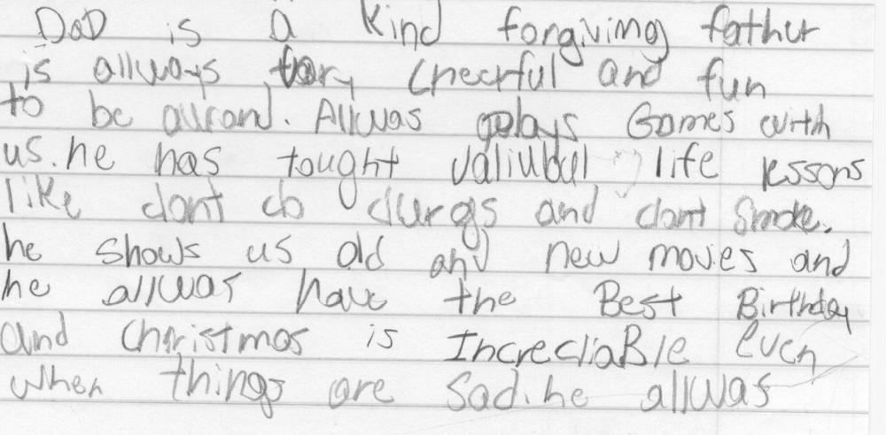 В сети появилось трогательное послание маленького мальчика, который просит смягчить наказание для своего отца.