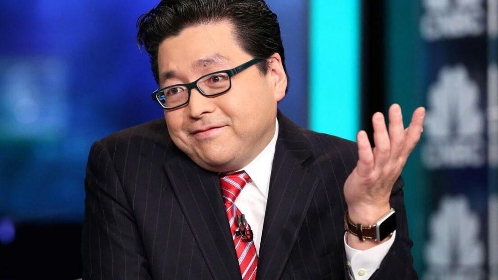 Специалист Fundstrat Том Ли: Взлет американского фондового рынка подстегнет биткоин