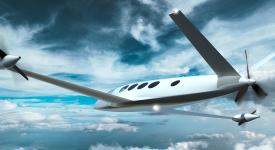 Первые испытания электрического самолета Alice