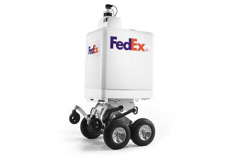 FedEx протестирует робота-курьера FedEx SameDay Bot