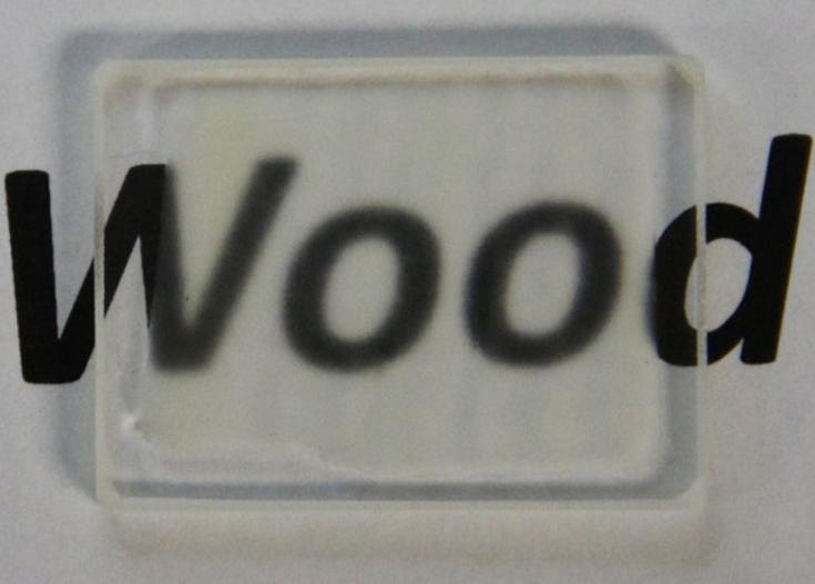 Усовершенствованная технология производства прозрачной древесины