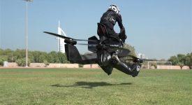 В США создадут реактивный мотоцикл