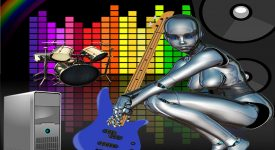 В Перми студенты изобрели механическую рок-группу