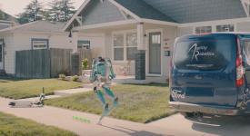 Ford разработал антропоморфного робота для доставки товаров