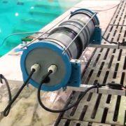 Ученые из Красноярска испытали подводный квадрокоптер в бассейне с течением