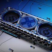 Дизайн видеокарт 2035 года продемонстрировала компания Intel