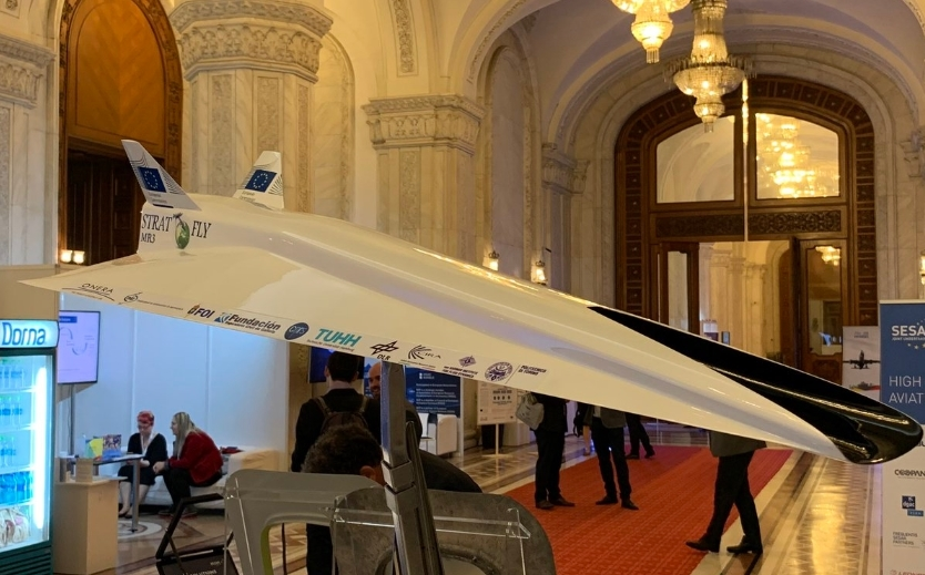 Впервые модель гиперзвукового авиалайнера продемонстрировали на выставке Aerodays-2019