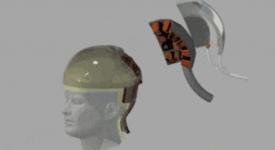Шлем MOANA поможет незрячим людям воспринимать визуальные образы и изображения