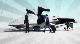 Компания Bosch ведет разработку доступных сенсорных блоков для аэротакси