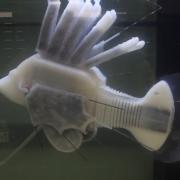 В США робота-рыбу оснастили гидравлической системой с жидким электролитом
