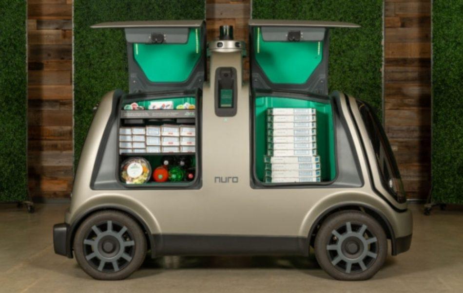 Развозом пиццы Domino's Pizza начнет заниматься автономный транспорт