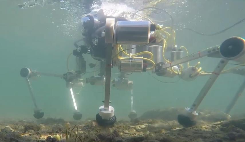 Поиском пластиковых отходов в воде займется итальянский робот-краб SILVER 2