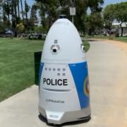 В Хантингтон-Парке HP RoboCop начал выписывать штраф и искать правонарушителей