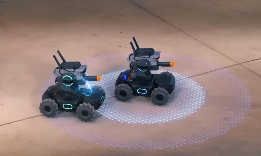 В Китае в продажу поступил детский набор для сборки боевого робота S1