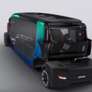 Беспилотный модульный трансформер Scania NXT сможет выполнять множество задач