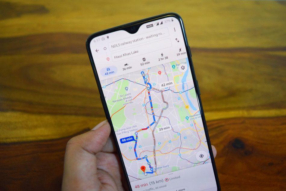 С появлением новой функции в Google Maps поездки в такси станут безопаснее